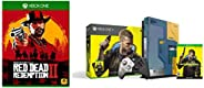 Xbox One X Cyberpunk 2077 Limited Edition Bundle (1TB)&Red Dead Redemption - 2 (Xbox