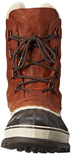 Sorel CARIBOU WL NM1481, Stivali da neve Uomo Marrone (Braun (Tobacco 256))