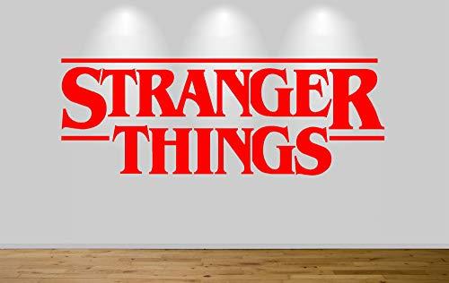 Juko Kids Stranger Things Logo 1359 Tv Series Wall Sticker Decal 57cm Wide