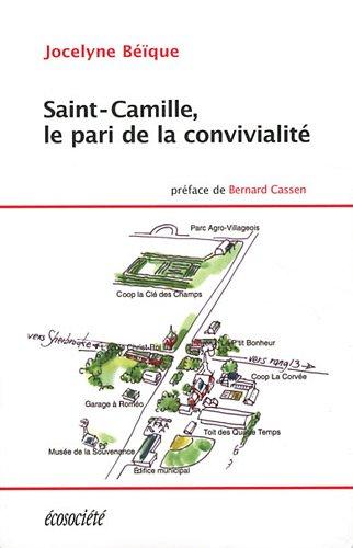 Saint-Camille, le pari de la convivialité par Jocelyne Béïque