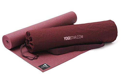 Yogistar Yoga-Set Starter Edition Bordeaux