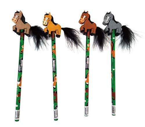 Unbekannt Pferde Party Bleistift mit Radiergummi