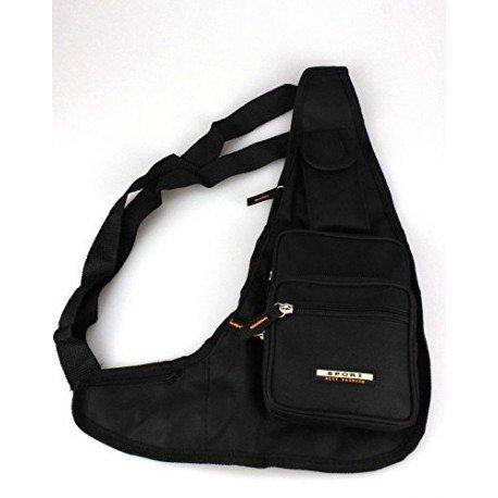 Tasche TASCHE Tasche Schultertasche Schwarz Mann getragen durch Sport Holster Reise