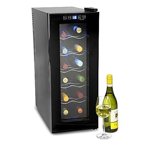 VinoTech 12 Bottle Wine Cellar - 35 Litre Digital Wine Cooler and Warmer 10ºC to 18ºC