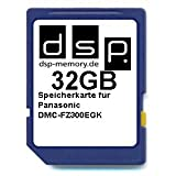 DSP Memory Z-4051557435605 32GB Ultra High Speed Speicherkarte für Panasonic DMC-FZ300EGK