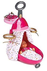 muñecas: Trolley nursery 2en1 para muñecos bebé de Baby Nurse (Smoby 220316)