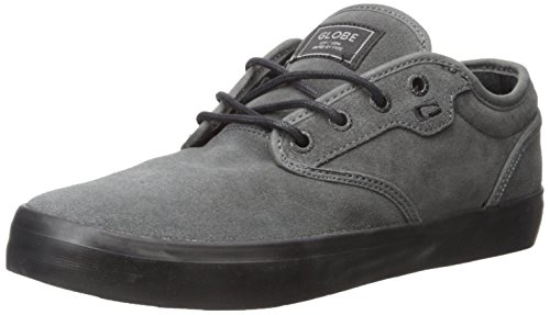 Globe Men's Motley Skateboarding Shoe, Dark Shadow/Black, 10 M US Dark Shadow/Black