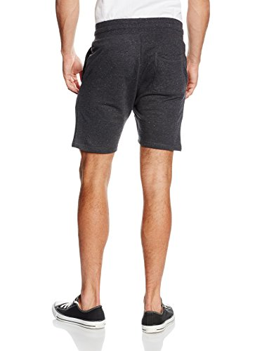 ONLY & SONS Herren Onspeter Sweat Shorts Grau (Dark Grey Melange)
