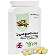 Green Lipped Mussel Supplement (500mg) - 90 Capsules | High Grade New Zealand Sourced Green Mussel Supplement | No Fillers | UK Manufactured | Quality Guaranteed