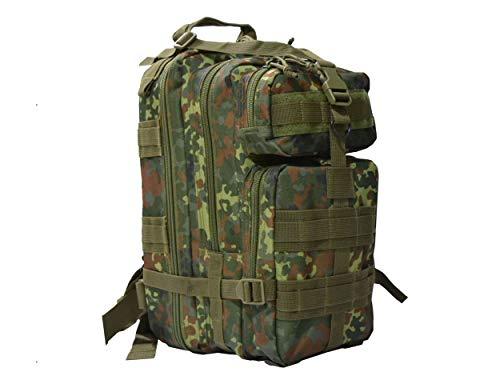 Taktischer Einsatzführungsrucksack US Assault Pack Cooper Rucksack in vielen Farben (Flecktarn)