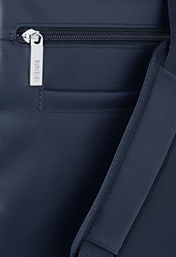 BREE, Borsa a spalla uomo Blu skydriver-hellblau 38 cm x 28 cm x 8 cm (B x H x T) blu