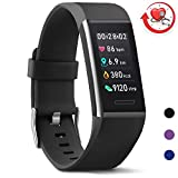MorePro X-Core Fitness Tracker HR, Waterproof Color Screen Activity Tracker Heart Rate Blood
