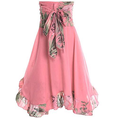 BEZLIT Mädchen Kinder Spitze Kleid Peticoat Fest Sommer-Kleid Kostüm 20424 (128/8 Jahre, Lachs) (Online Kinder Kaufen Kleid)
