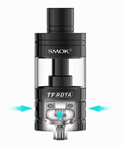 SMOK TF-RDTA - 5ml Selbstwickler für elektrische Zigarette Farbe: silber