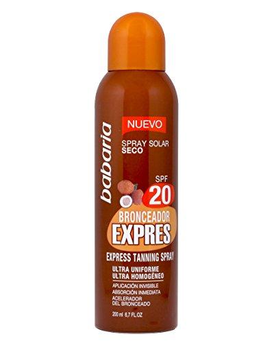 Babaria Spray Bronceador Expres SPF20-200 ml