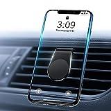 Supporto Magnetico per Auto, Smartphone Porta Cellulare da Auto [Forte Magnetico] [Mini formato] Telefono Supporto Ventilazione Universale per iPhone 8 7 Plus Samsung S9 Huawei P30 Mate 20 Lite GPS