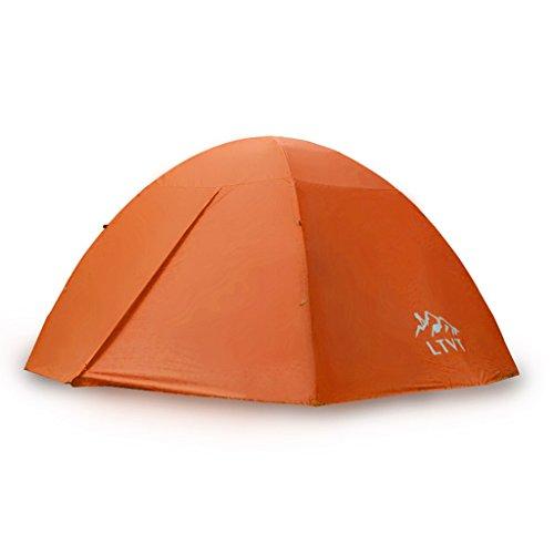 LFFTENT HJHY® Tente, tente en aluminium extérieure campante campante double campante campante 280 * 120cm Tente portative