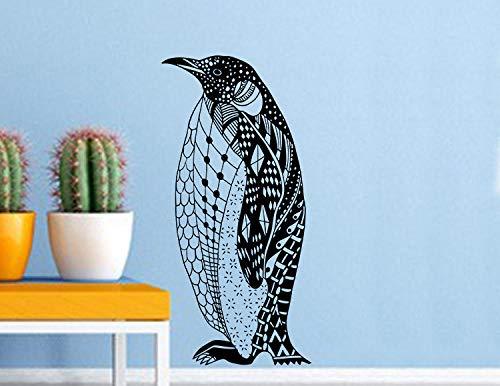 mer Dekoration Tapete Pinguin Porträt Wandaufkleber ()
