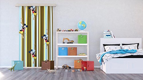 Tende Per Bambini Disney : Ag design tende mickey mouse disney tende per camera bambini