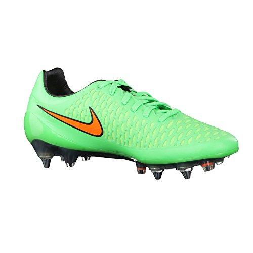 Nike Magista Opus Sg-pro, Herren Fußballschuhe grün / orange