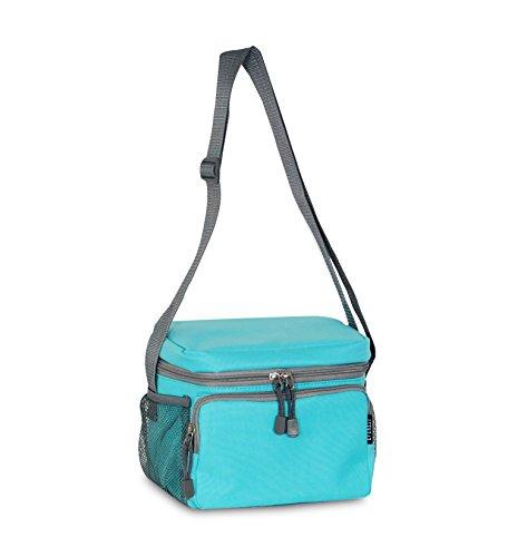 Everest Kühler Lunch Bag, Aqua Blue, Einheitsgröße -
