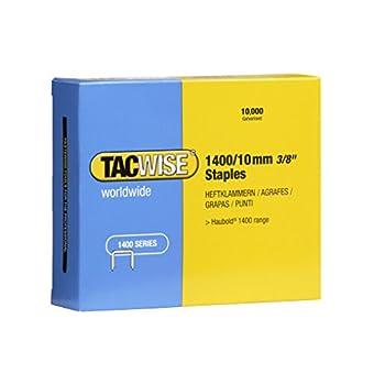 Tacwise 0378 Boîte de 10000 Agrafes galvanisées 10 mm Type 1400