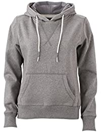 James & Nicholson Women's Hoody Sweatshirt