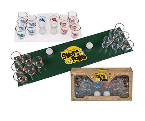 Bavaria Home Style Collection - Shots Pong- Das Beste Partyspiele - Trinkspiele - Gesellschaftspiele - Die Perfekte Geschenkidee! für Jede Party