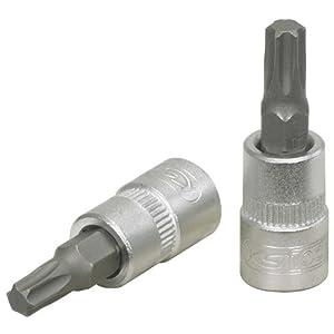 KS Tools 911.1448-E Douille tournevis TORX 8 – 1/4» – CHROMEmat – sur support pas cher