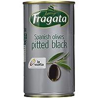 Fragata Oliven, schwarz, ohne Stein, 350 g