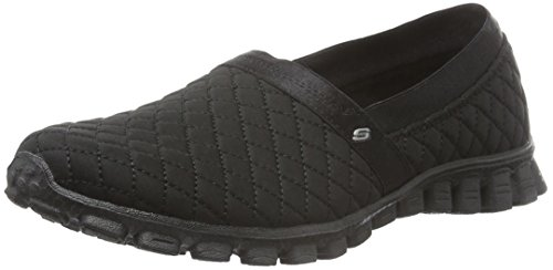 Skechers Damen Ez Flex 2Bankroll Sneakers Schwarz (Bbk)