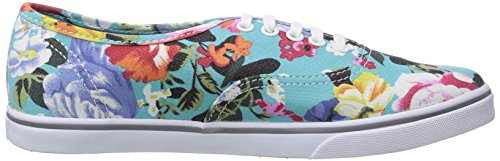 Vans U AUTHENTIC LO PRO (FLORAL) SMOKED Unisex-Erwachsene Sneakers Mehrfarbig (Floral) Smoked EGY)