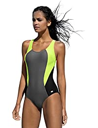 LORIN Badeanzug fur Damen Endurance einteiliger Schwimmanzug Vorgeformte BH- Cups afb58e32b2