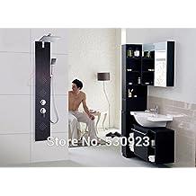 tougmoo nuovo moderno in acciaio inox spazzolato bagno doccia pannello doccia colonna doccia 3funzioni con soffione Clear