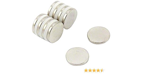 Magdev DCNI 00627//N Néodyme fer Bore 20x5mm N35H Disque Aimant packs de 3