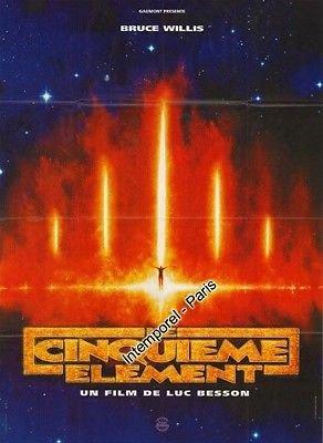 Affiche Cinéma Préventive Grand Format - Le Cinquième Élément (format 120 x 160 cm pliée)