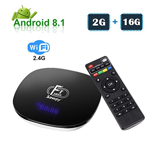 Sawpy Android 8.1 TV Box A95X F1 CPU Amlogic S905W