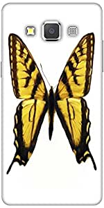 Snoogg Digital Painting Of A Butterfly Solid Snap On - Back Cover All Around ...