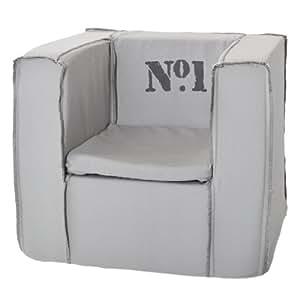 jollein 028 860 00023 kindersessel nummer 1 grau baby. Black Bedroom Furniture Sets. Home Design Ideas