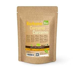 Curcuma In Polvere Bio Prodotto Biologico 1000g (1 x 1kg) di NATURACEREAL