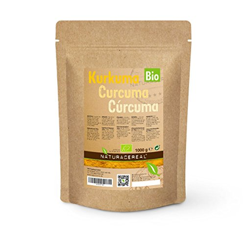 Curcuma en Poudre BIO / Organique - 1 kg - NATURACEREAL - L'Or d'Orient