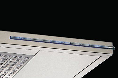Pando P-402 1050 m³/h De pared Acero inoxidable - Campana (1050 m³/h, Canalizado, 32 dB, 59 dB, De pared, Acero inoxidable)