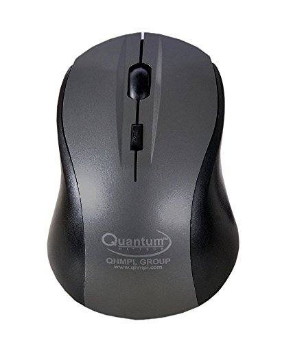 Quantum QHM262W Optical Wireless Mouse (Grey)