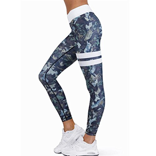 Leggings deportivos elásticos transpirables Para