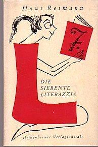Die siebente Literazzia Privatissimum über Neu - Erscheinungen auf unserem Büchermarkt und dazugehöriger Krimskram