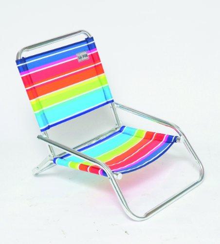 Kb - Caldos Alu Multicolore + Accoudoirs -textilene