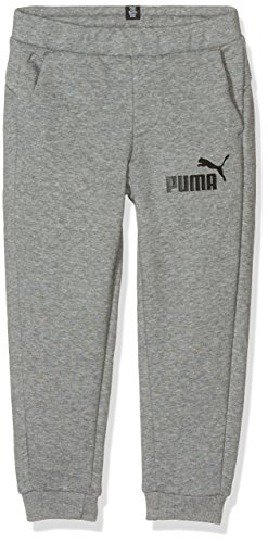 Puma 838719 03 Pantalón, niños, Medium Gray Heather, 128