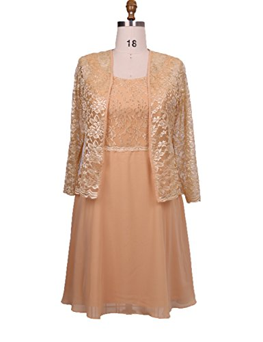 Stillluxury -  Vestito  - Donna Gold