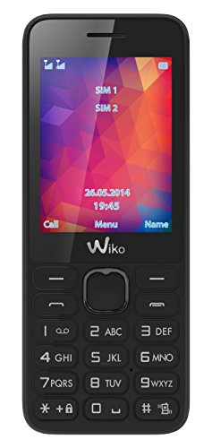 Wiko RIFF2 2 4  77g Negro - Tel  fono M  vil  Barra  SIM Doble  6 1 cm  2 4    Bluetooth  800 mAh  Negro