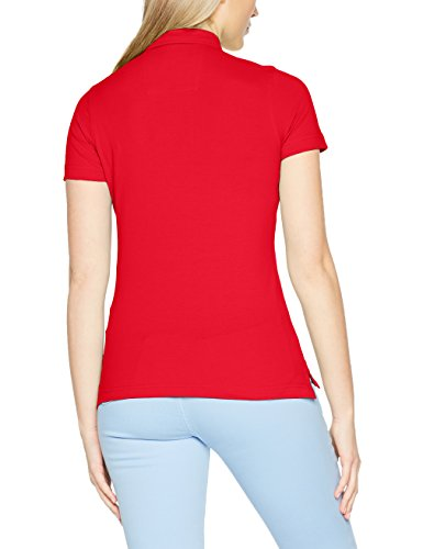 James & Nicholson Damen Poloshirt Ladies' Traditional Polo Rot (Red/Red-White)